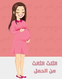 اسابيع الثلث الثالث من الحمل