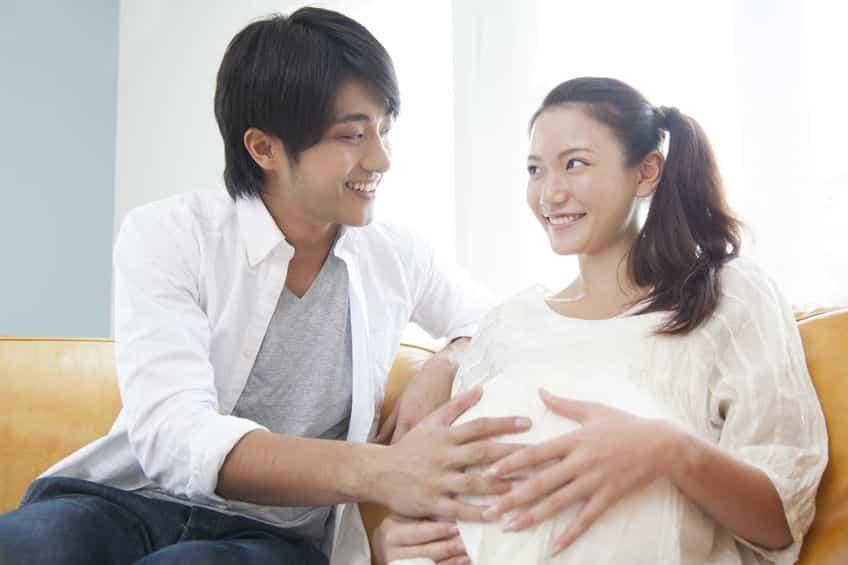 الأم في الأسبوع العشرون من الحمل