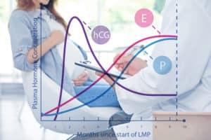 حاسبة اتش سي جي HCG او قياس هرمونات الحمل • انا حامل