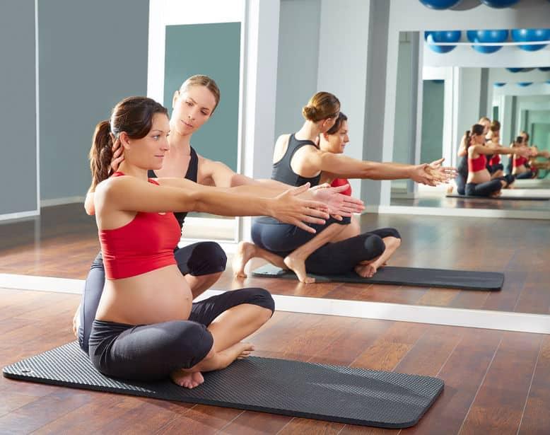 الثلث الثالث من الحمل التمارين الرياضية خلال الثلث الثالث من الحمل