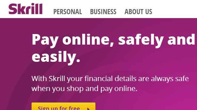 حساب في البنك الالكتروني سكريل Skrill ( موني بوكرز )