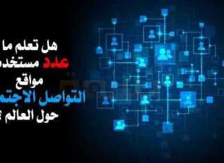 مستخدمي مواقع التواصل الاجتماعي