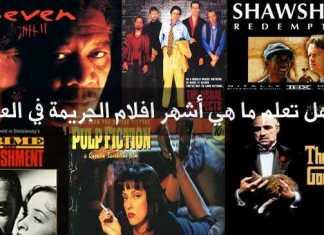 هل تعلم ما هي أشهر افلام الجريمة في العالم