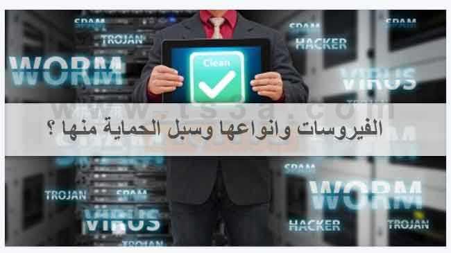الفيروسات انواع سبل الحماية فيروس برامج