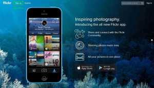 الدخول الى موقع فليكر والاشتراك