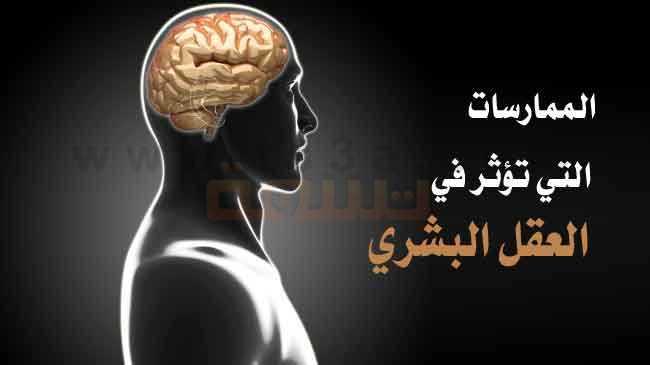 الممارسات والعادات التي تؤثر في العقل البشري سلامة عقلك الدماغ المخ
