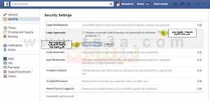 كيف تقوم بتأمين حساب فيس بوك من السرقة 4