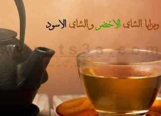 فوائد الشاي الاخضر و الشاي الاسود
