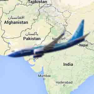 تحطمت طائرة على حدود الهند وباكستان أين سيتم دفن الناجين؟
