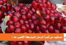 كيف تستفيد من ثمرة الرمان