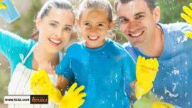 المهارات في التنظيف التي على الطفل تعلمها
