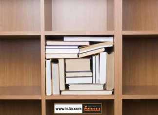كيف يمكنك ترتيب كتبك في خزانة الكتب