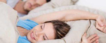 النوم الهادىء