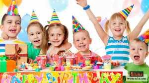 تنظيم مسابقة حفلة عيد ميلاد
