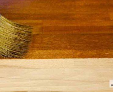 صباغة الأخشاب