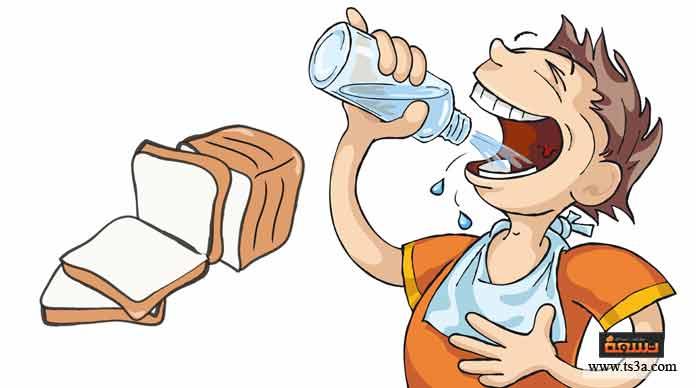 تكلفة قنينة ماء وقطعة خبز ليرة وعشرة قروش 1.10 . ثمن قنينة الماء ليرة واحدة أكثر من قطعة الخبز. كم ثمن قطعة الخبز؟