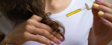 الزيت في علاج الشعر