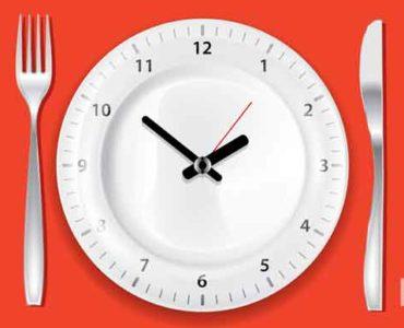 تناول الطعام ببطء