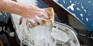 كيف تنظف السيارة بنفسك