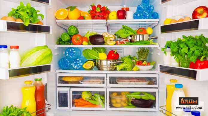تخزين الطعام في الثلاجة