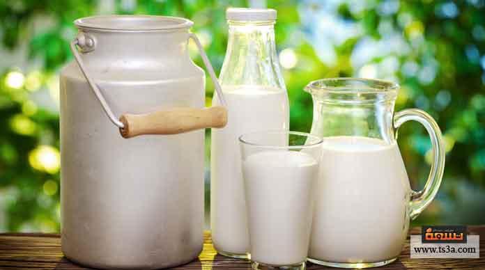 شراء الحليب أو اللبن الجيد