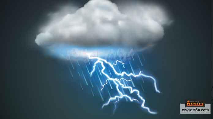 كيف يحدث الرعد