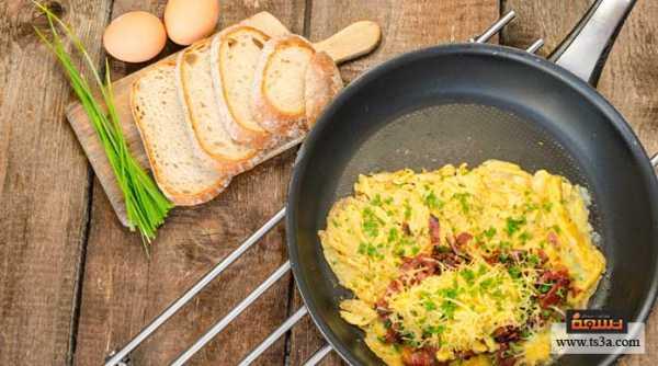 إعداد البيض المحشي في الخبز