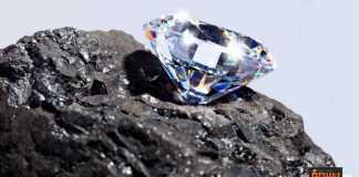 استخراج الماس من باطن الأرض