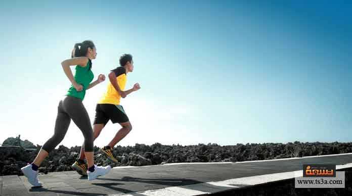 الجري لمسافات طويلة دون التعب