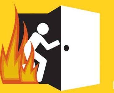 النجاة من الحريق