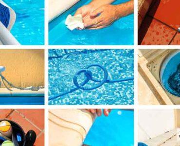 تنظيف حمام السباحة