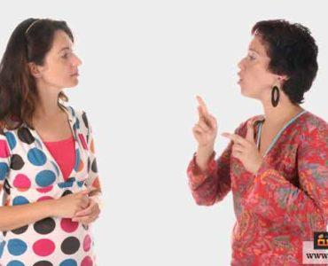 تواصل مع شخص أصم
