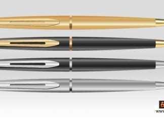 كيف يعمل القلم الجاف