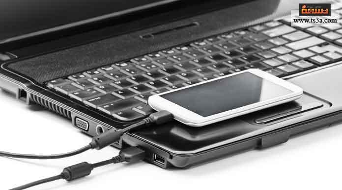 نقل الملفات من جهاز الكمبيوتر إلى الهاتف المحمول