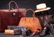 الاعتناء بالمنتجات الجلدية