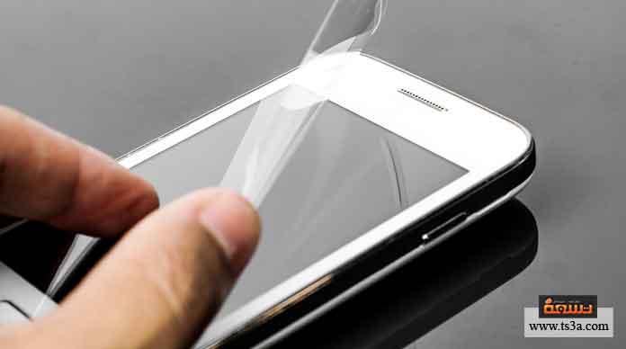 حماية شاشة هاتفك المحمول من الخدوش