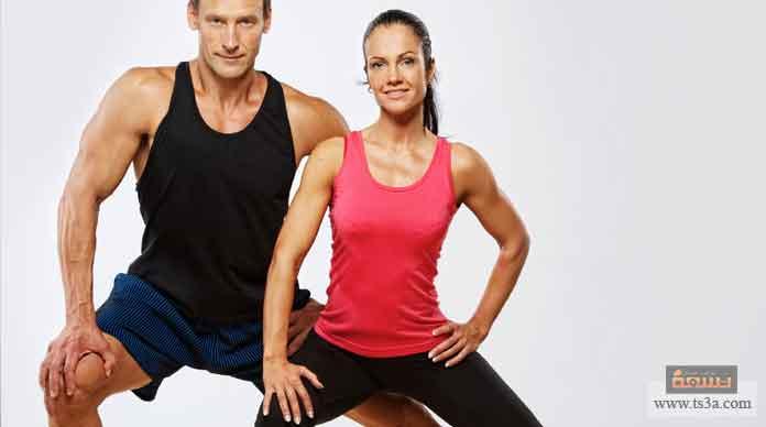 زيادة نسبة العضلات