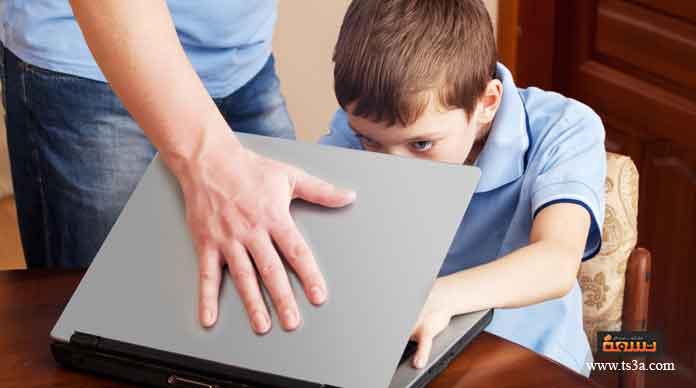حماية الأطفال عند استخدامهم الإنترنت