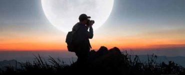 تصوير القمر
