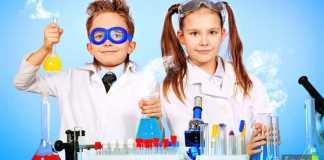 تعلم طفلك مبادئ الكيمياء