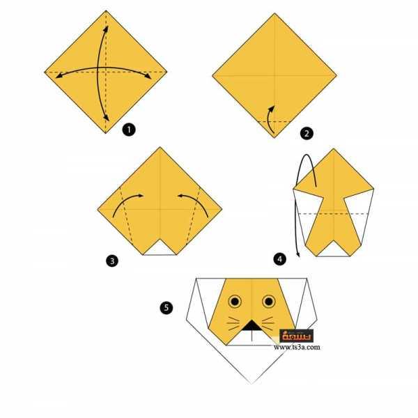 تعلم فن الأوريجامي 4