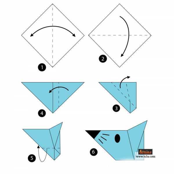 تعلم فن الأوريجامي 5