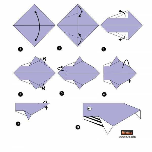 تعلم فن الأوريجامي 6