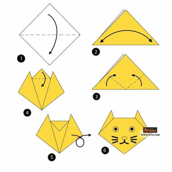 تعلم فن الأوريجامي 9