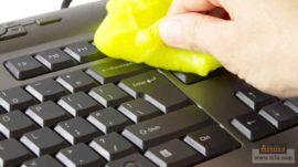 كيف تنظف لوحة مفاتيح