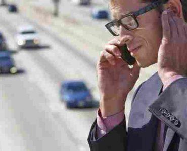 استعمال الهاتف في الضجيج
