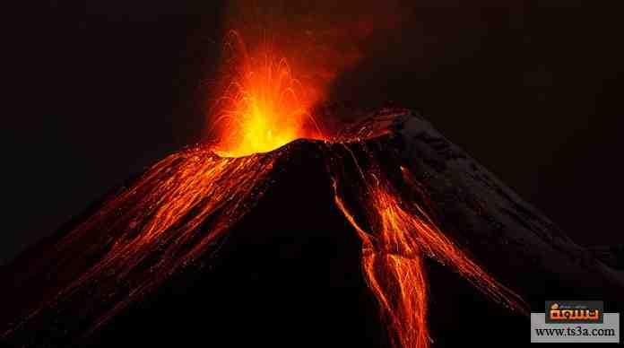 الانفجار البركاني