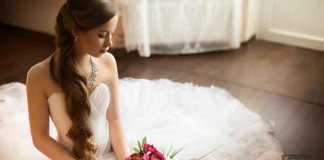 العروس ليلة الزفاف