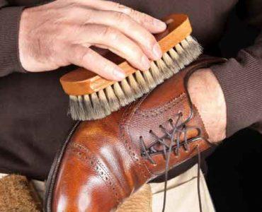 تلميع الأحذية