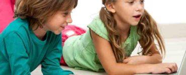 تعامل الأطفال مع الإنترنت